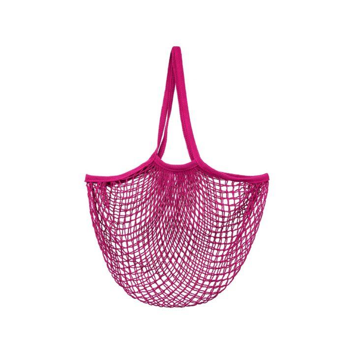 LUK004_A_Hot_Pink_String_Shopper_Bag
