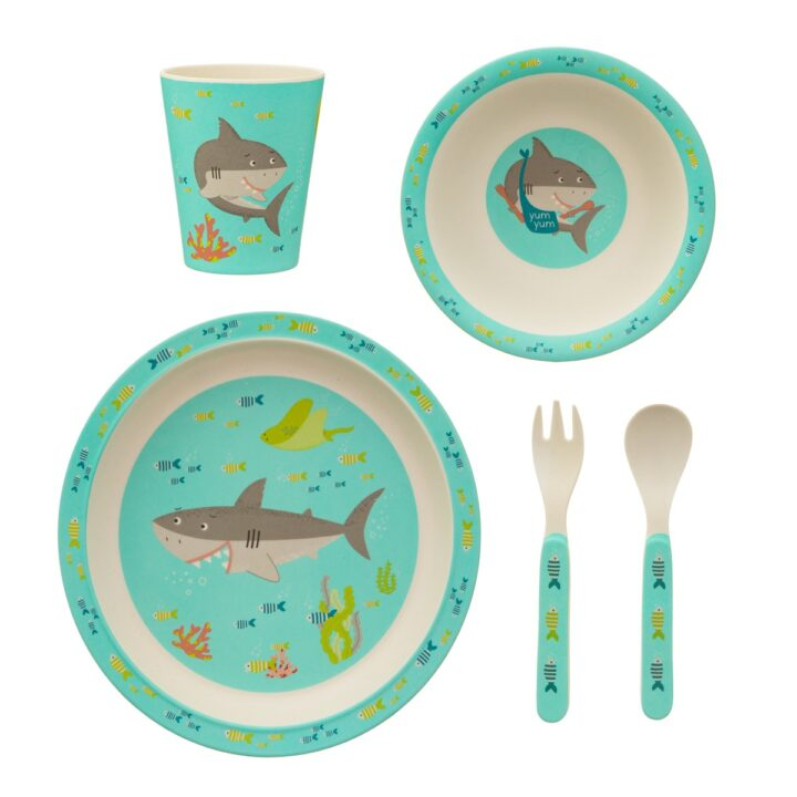 Shark_Bamboo_Tableware_Set