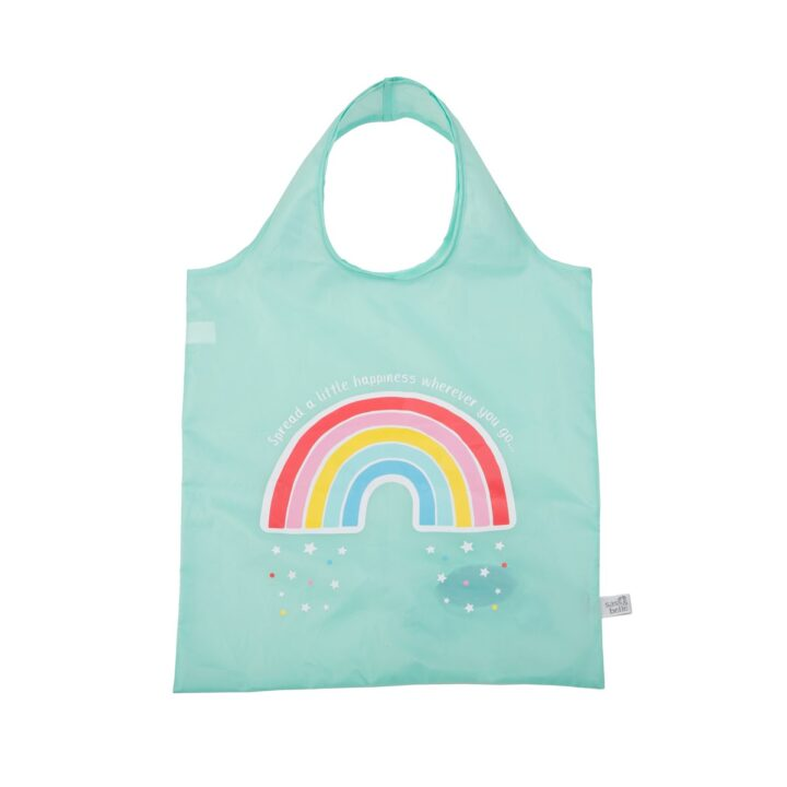 VAL053_A_ChasingRainbows_FoldableShopperBag_Front