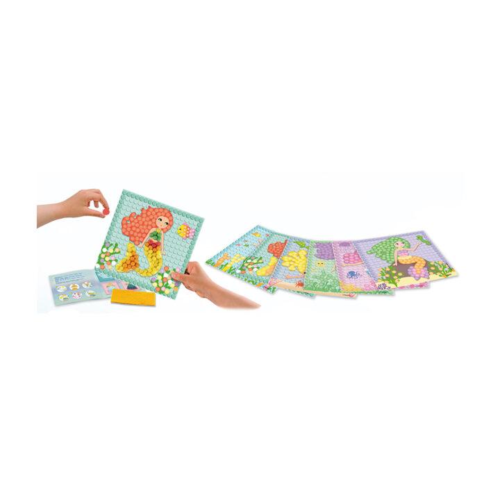 PlayMais_Mosaic_Dream_Mermaid_Hands___cards