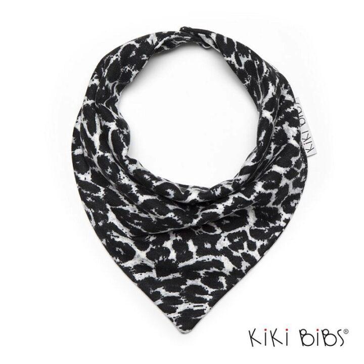 Σαλιάρα Leopard Black