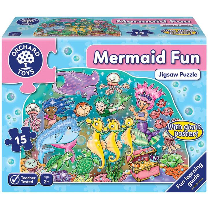 Mermaid fun puzzle