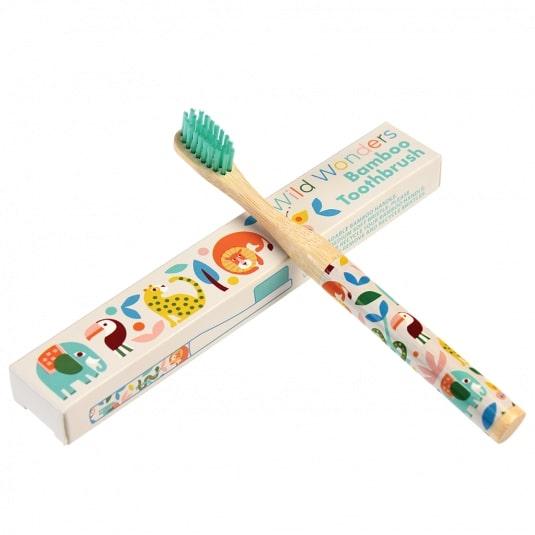 Οδοντόβουρτσα Wild Wonders από μπαμπού