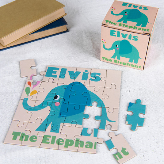 Μίνι Παζλ Ελέφαντας