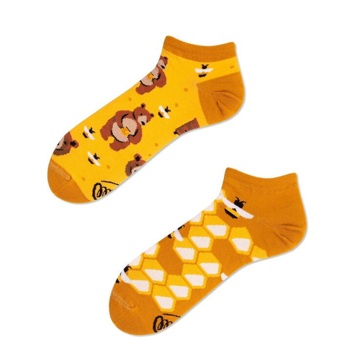 Honey Bear low socks