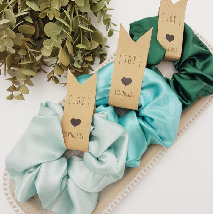 Scrunchies Green