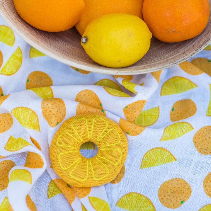 BabyOno Πάνα αγκαλιάς Orange