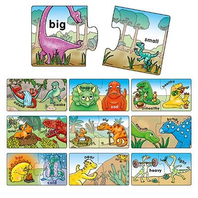 "Orchard Toys ""Αντίθετοι Δεινόσαυροι"" (Dinosaur Opposites) Jigsaw"