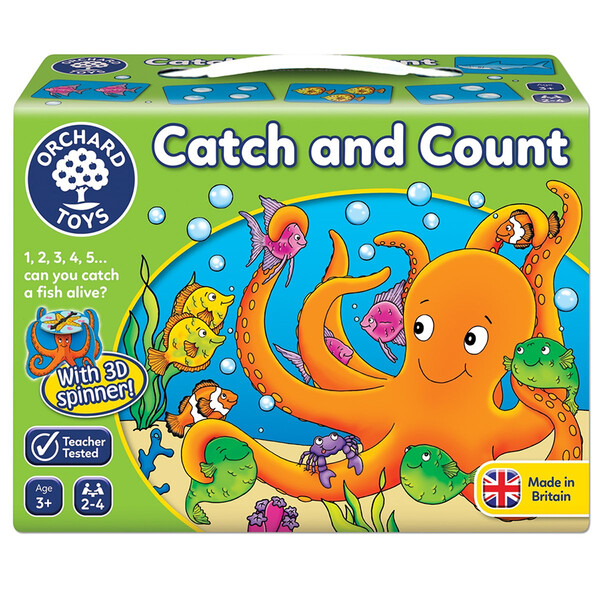 """Orchard Toys """"Catch and Count"""""""