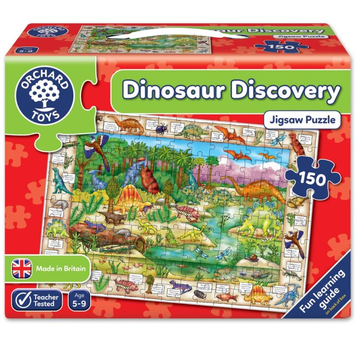 """Orchard Toys """"Dinosaur Discovery"""" Jigsaw Puzzle"""