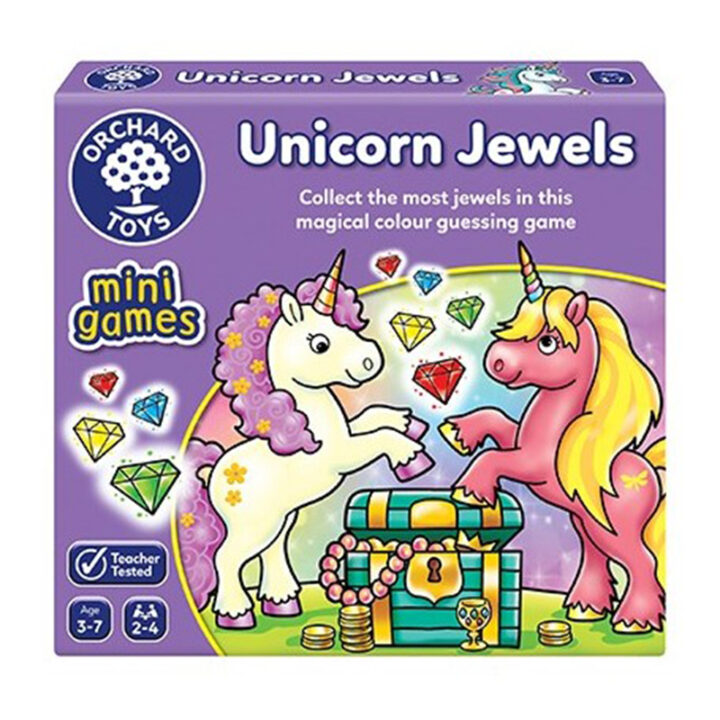 "Orchard Toys Mini Game ""Unicorn Jewels"""