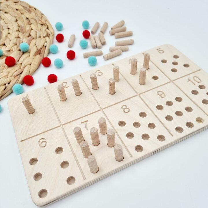 Αριθμοπίνακας Montessori